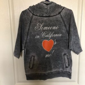 "Wildfox ""Someone In California ❤️'s Me"" hoodie"
